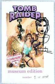 Tomb Raider #14 Sketch Premium Museum Edition Signed Andy Park COA Jay Company